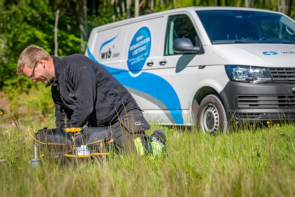 Service av minireningsverk WSB Clean från Watersystems