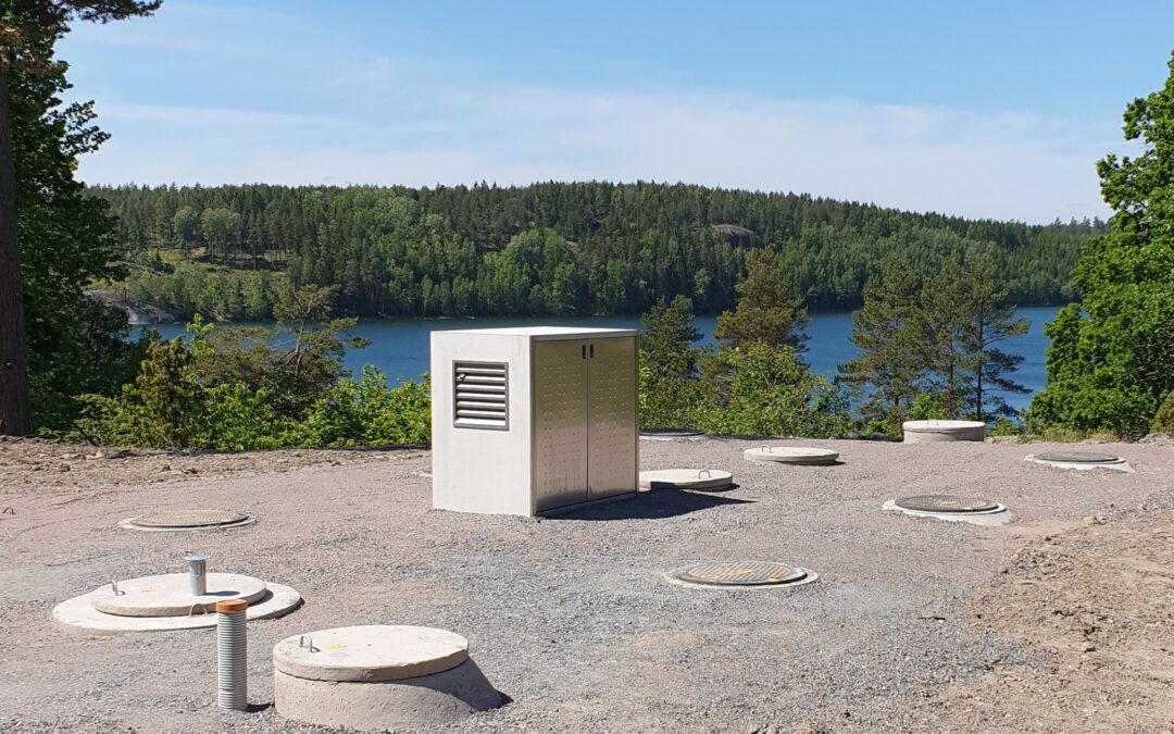 Solberga – WSB Clean reningsverk för 100 PE